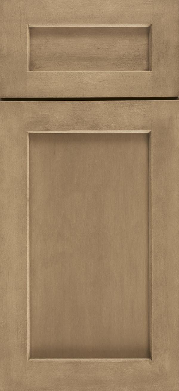 Blair cabinet door in maple desert finish
