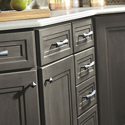Loring Cabinet Doors And Drawers With Coordinating Knobs And Pulls
