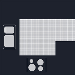 G-shaped kitchen layout