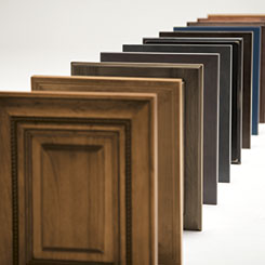 Omega Cabinet Doors In Various Wood Stains