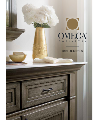 Cover of the Omega Bath Brochure