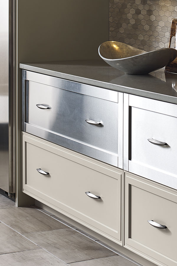 Aluminum Frame Cabinet Drawer Fronts