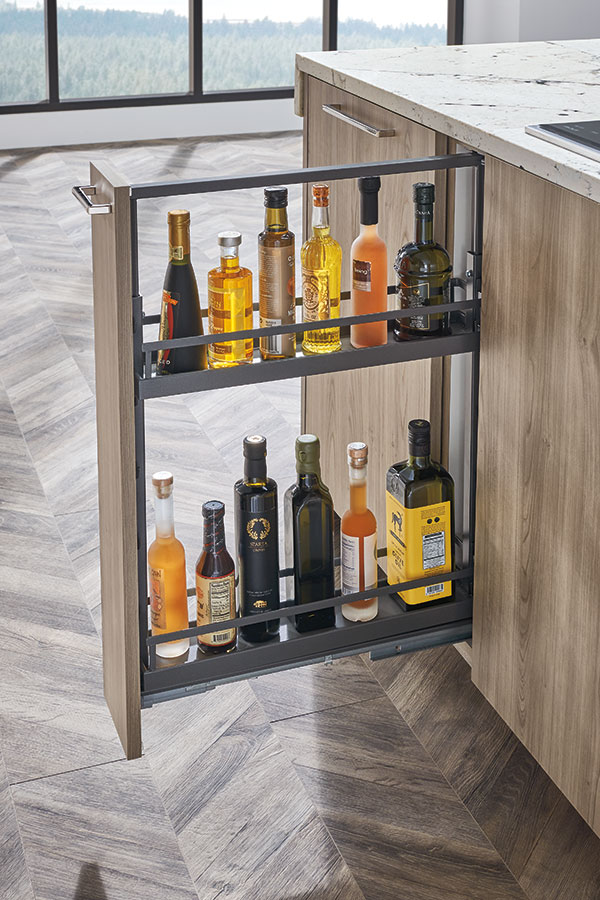 Base Cabinet Storage Slim Pullout