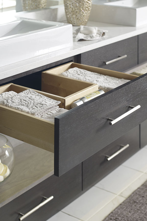 U Shaped Cabinet Drawer Omega Cabinetry