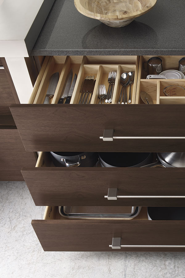 Custom Cabinet Drawer Insert & Custom Cabinet Drawer Insert - Omega Cabinetry