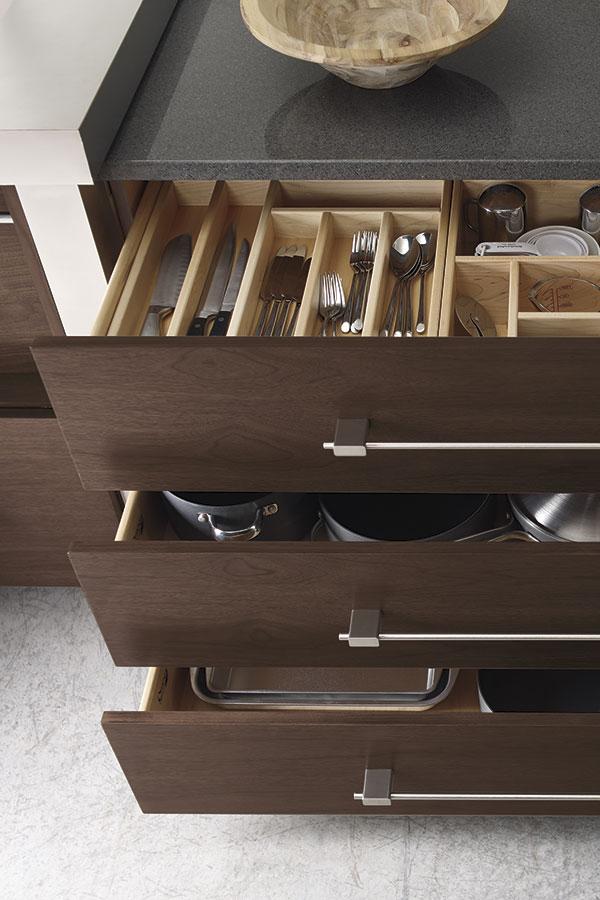 Custom Cabinet Drawer Insert