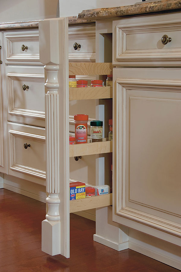 Beautiful Pantry Cabinet with Pull Out Shelves