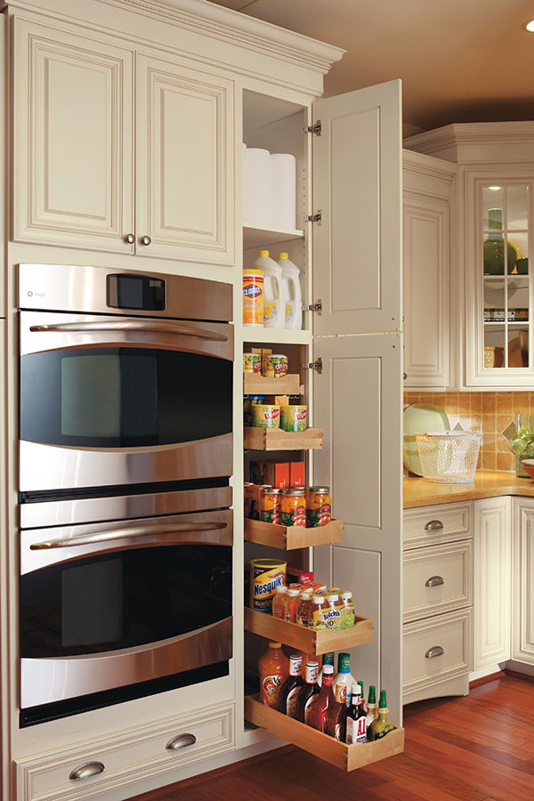 small kitchen cabinets storage pullout pantry cabinet omega cabinetry 26370