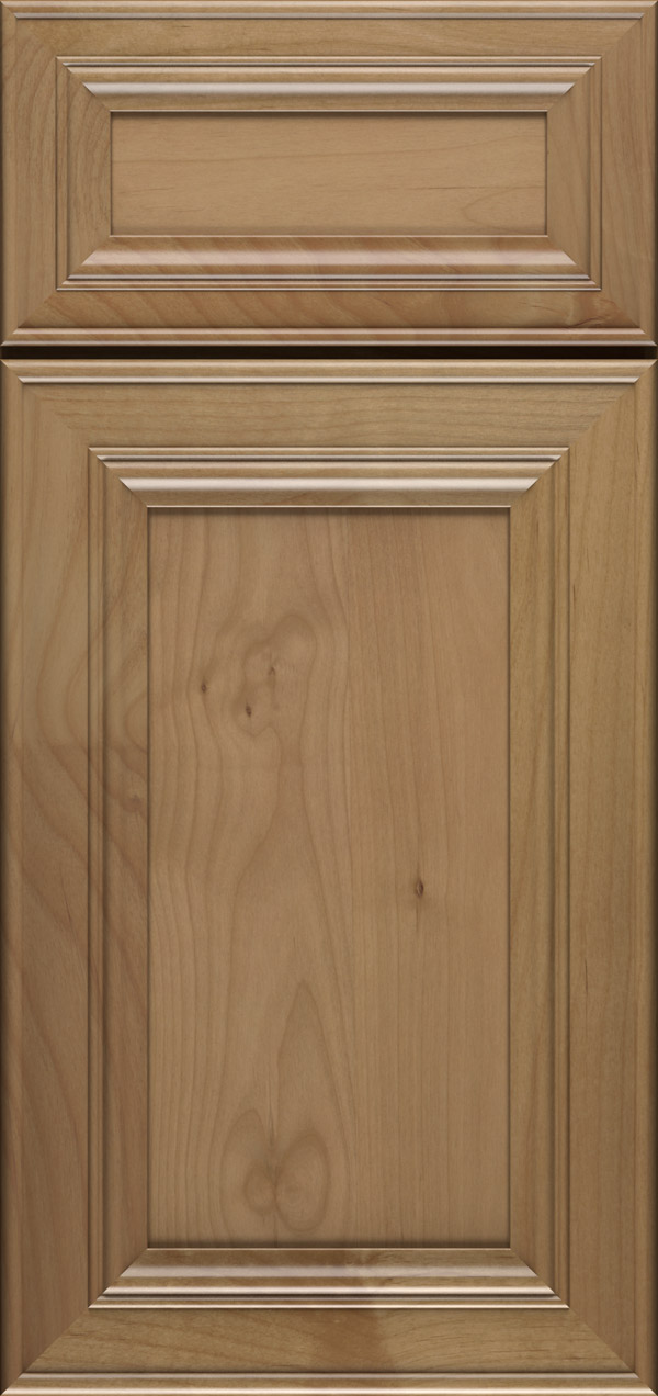 Anson 5-piece alder flat panel cabinet door in desert