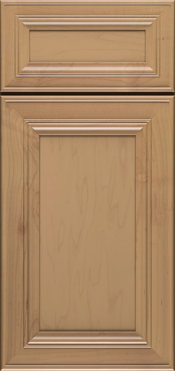 Anson 5-piece maple flat panel cabinet door in desert