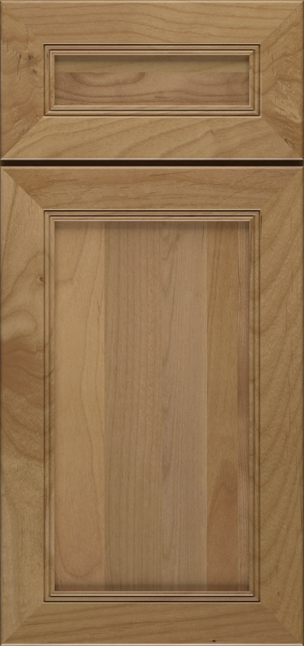Bancroft 5-piece alder reversed raised panel door in desert