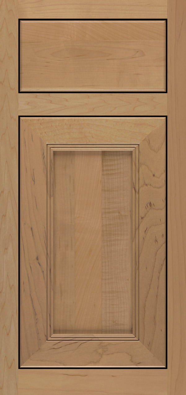 Maple Desert & Bancroft Cabinet Door Style - Omega Cabinetry