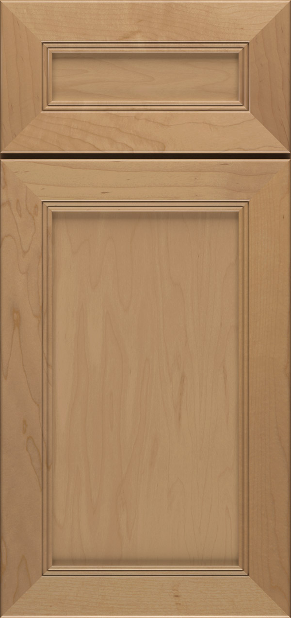 Barrington 5-piece maple flat panel cabinet door in desert