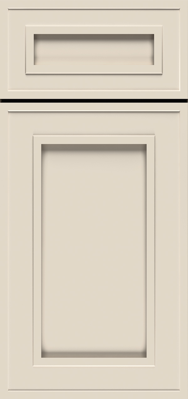 Beckwtih 5-piece maple reversed raised panel cabinet door in magnolia