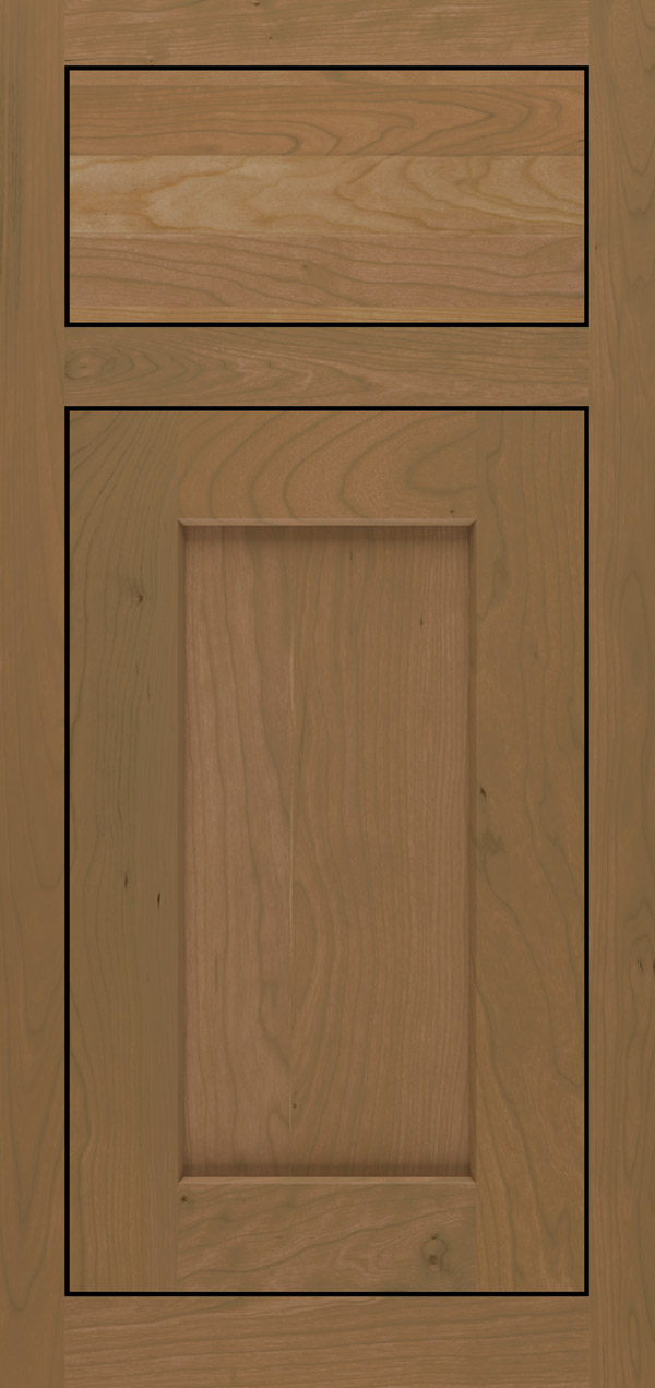 Blair cherry inset cabinet door in desert