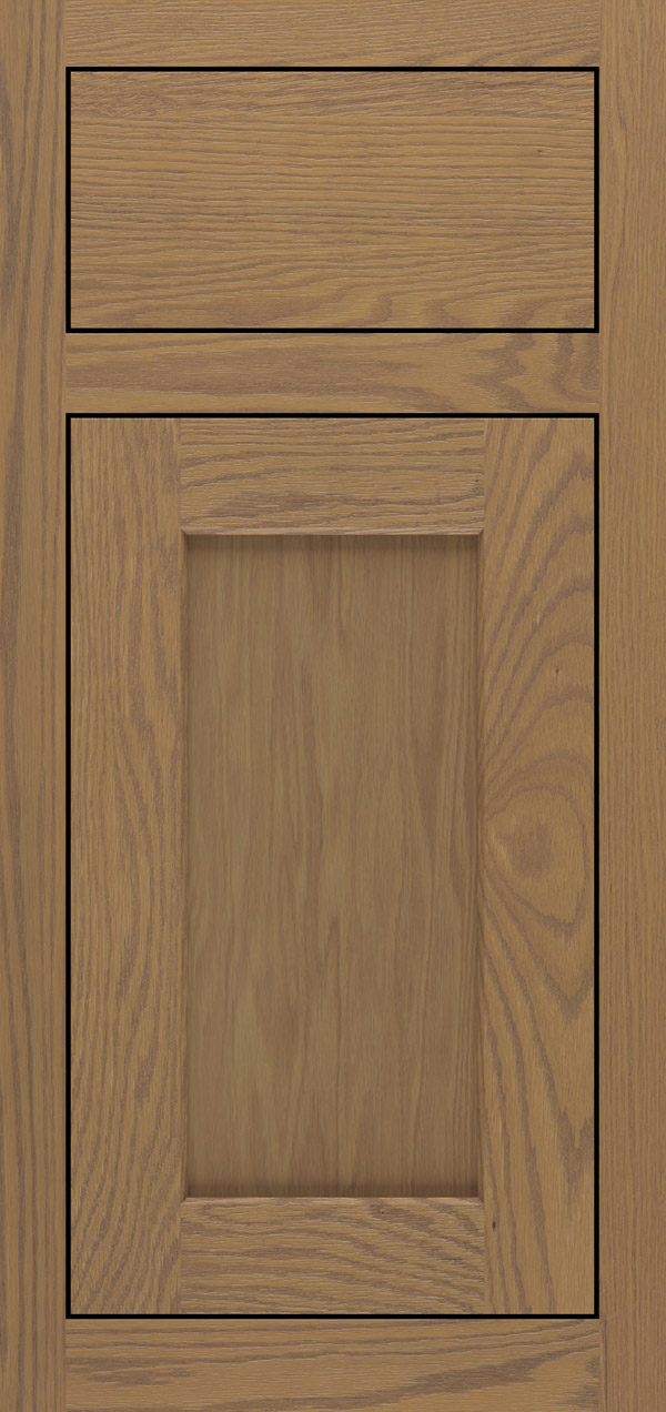 Blair oak inset cabinet door in desert