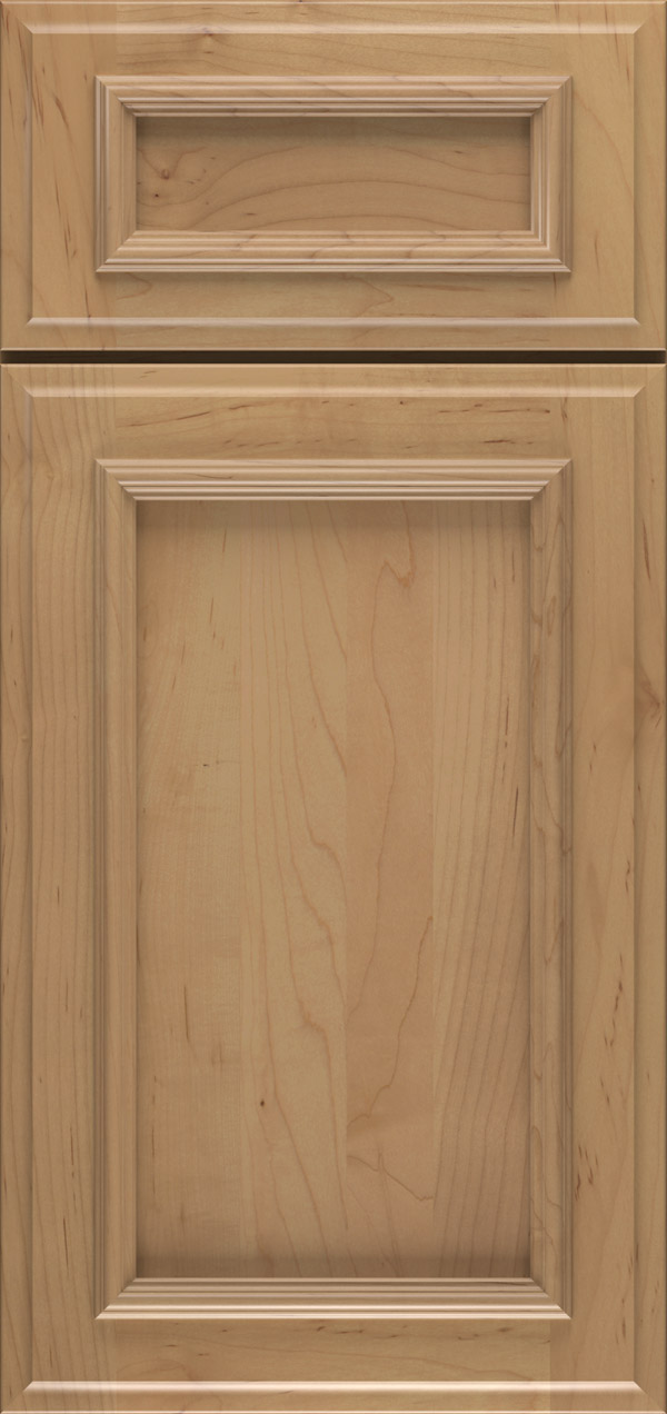 Brighton 5-piece maple reversed raised panel cabinet door in desert