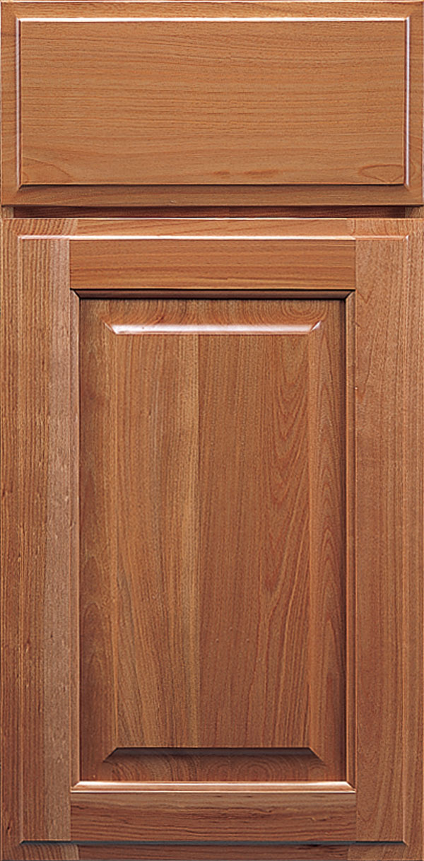 Brookside cherry raised panel cabinet door in autumn
