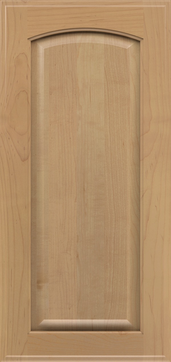 Brookside maple raised panel cabinet door in desert