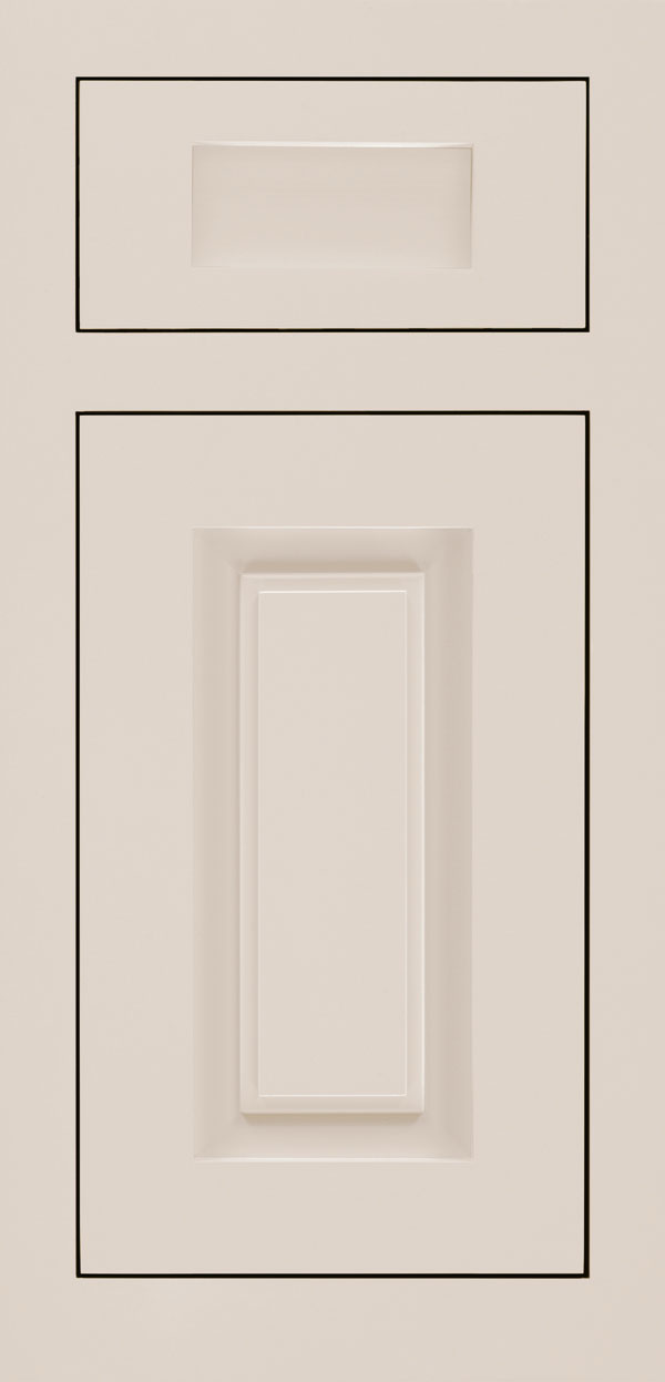 Calendo 5-piece maple inset cabinet door in magnolia