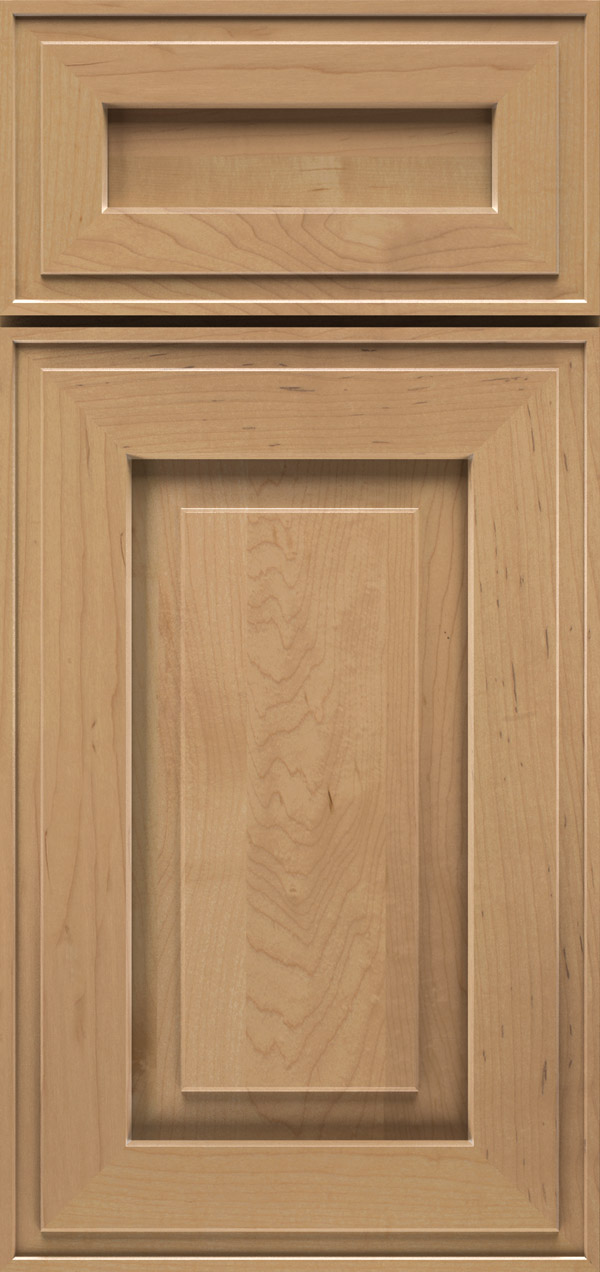 Clio 5-piece maple raised panel cabinet door in desert