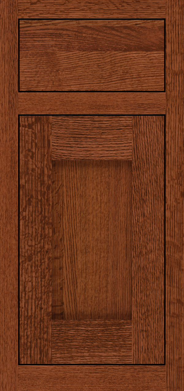 Quartersawn Oak Sable