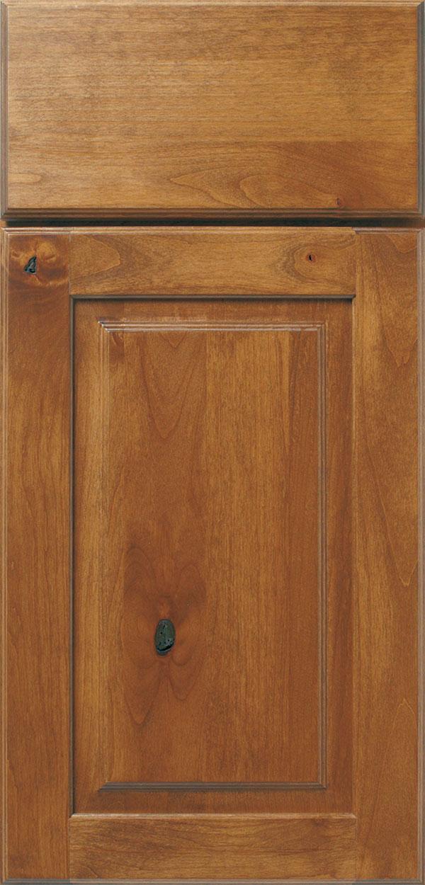 Sage Cabinet Stain On Rustic Alder Omega