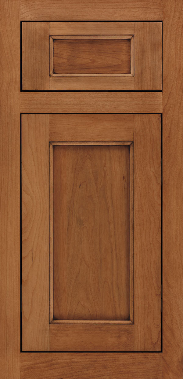 Cherry Butternut & Ultima Cabinet Door Style - Omega Cabinetry