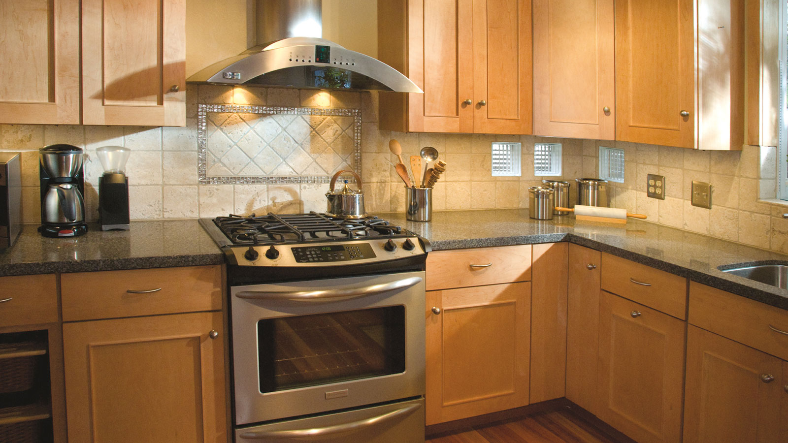 Light Maple Kitchen Cabinets - Dynasty Cabinetry