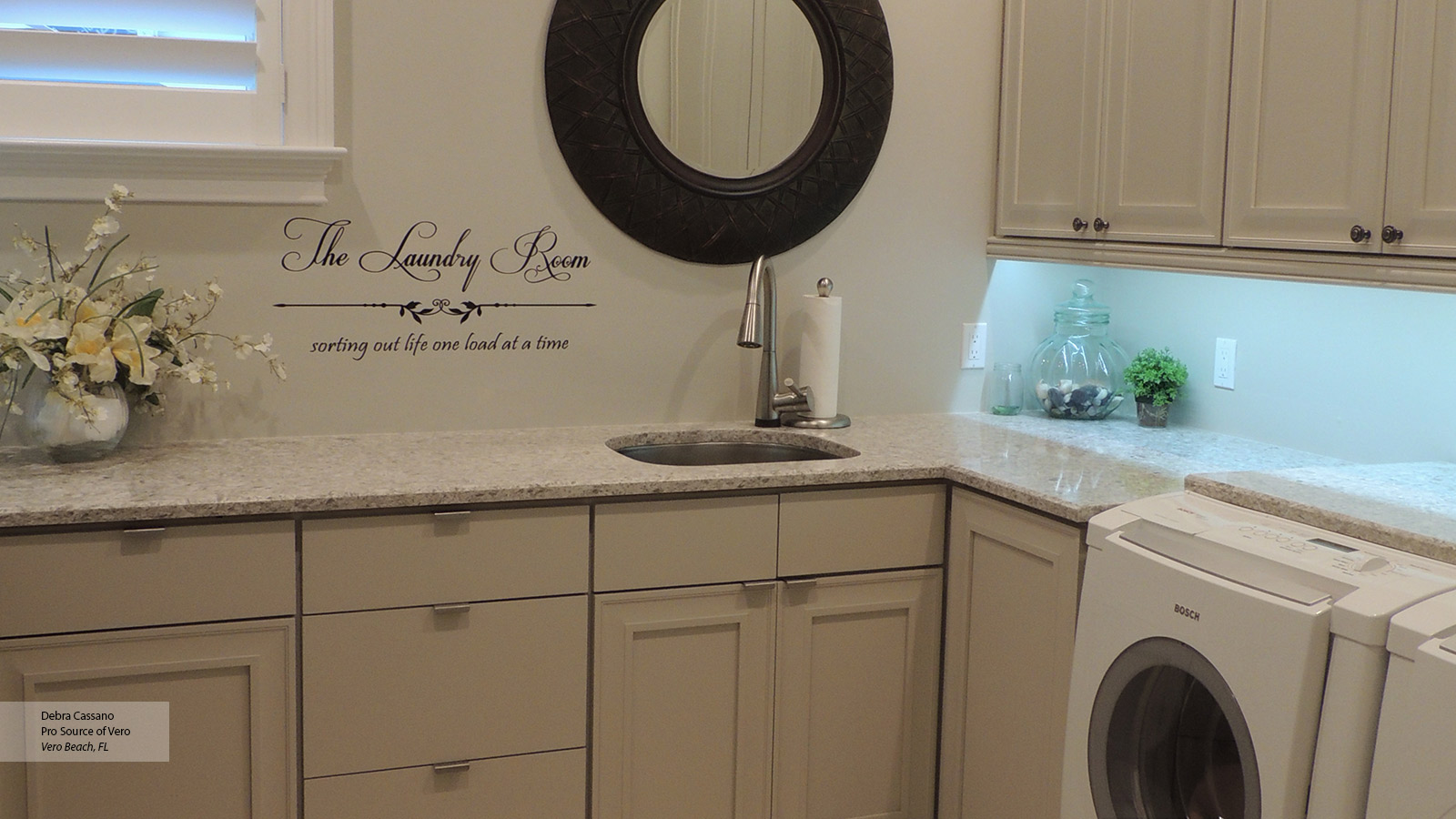 Design Style. Room. Casual. Laundry Room