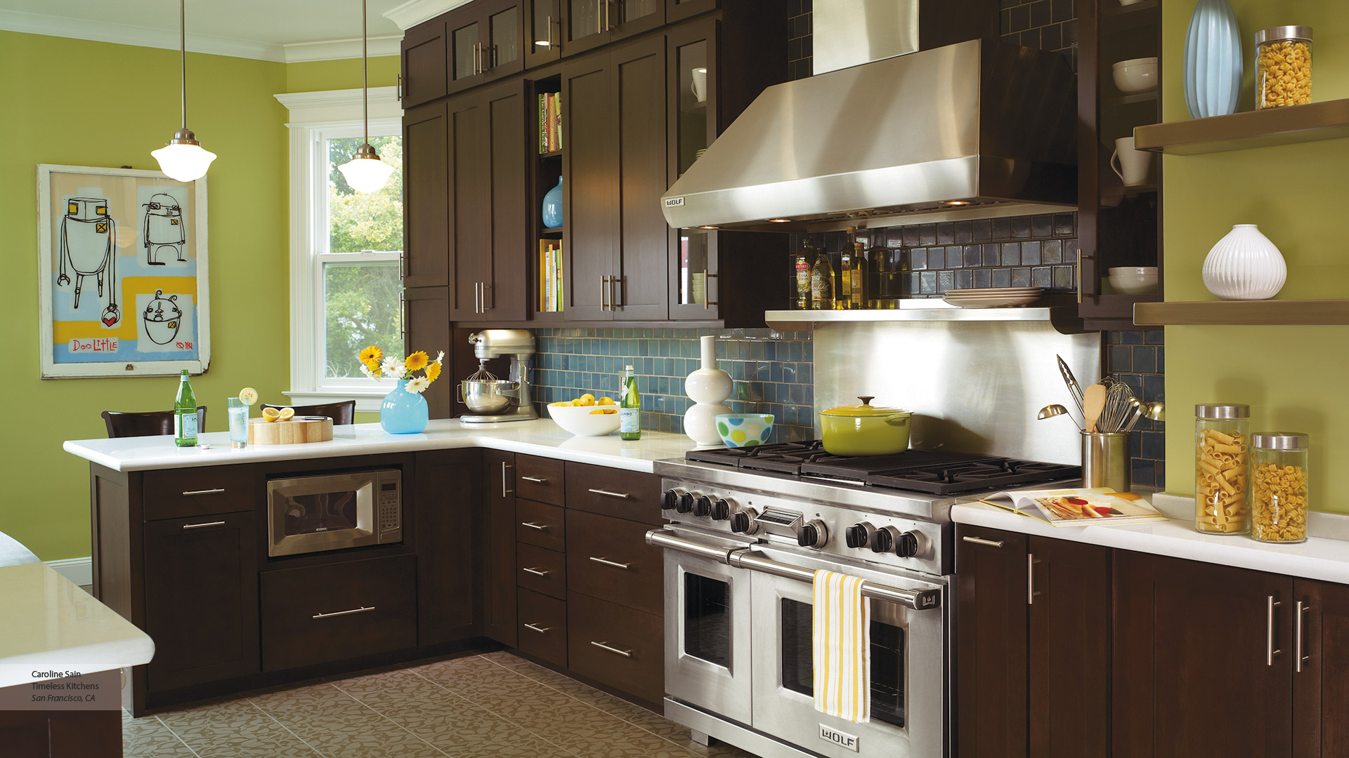 Shaker Style Cabinets In A Contemporary Kitchen Omega