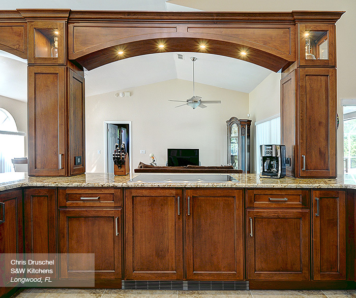 Walnut Kitchen Cabinets Omega Cabinetry