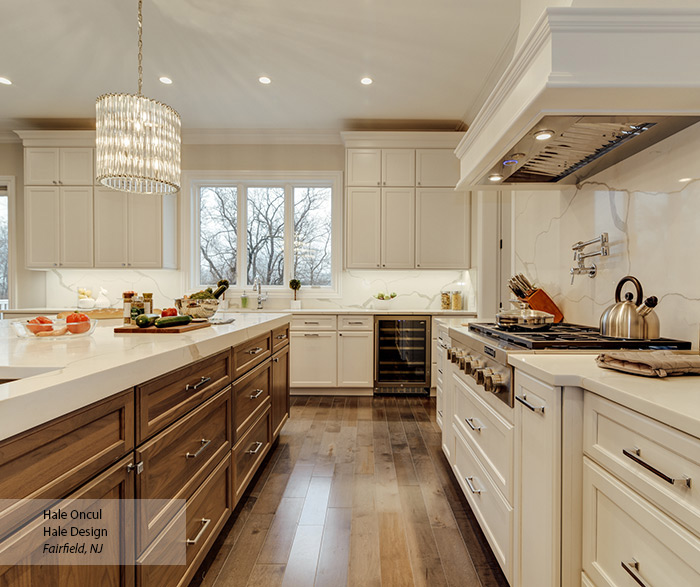casual_white_maple_and_walnut_kitchen_cabinets