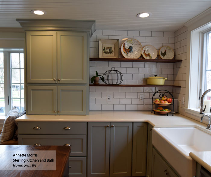 Omega Kitchen Cabinets Reviews: Williamsburg Flat Panel Cabinet Doors