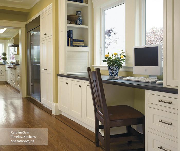 off white kitchen cabinets omega cabinetry. Black Bedroom Furniture Sets. Home Design Ideas