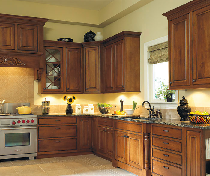 Inset kitchen cabinets by Dynasty Cabinetry