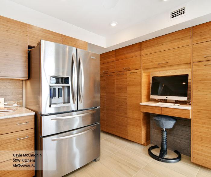 Tarin Natural Bamboo kitchen cabinets